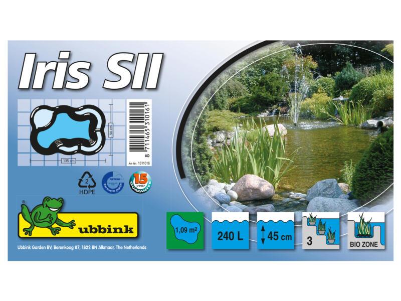 Iris SII bassin de jardin 240l