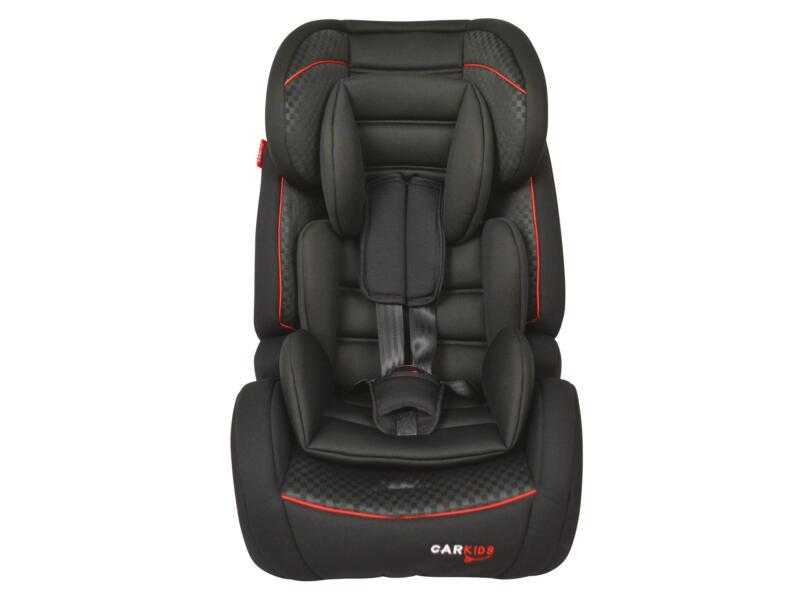 Carkids Isofix siège-auto groupe 1/2/3 noir et rouge