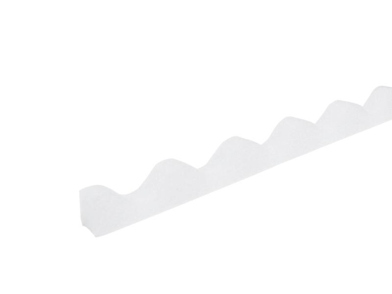 Scala Isolatieband golftype 76/18 100cm polyester wit 10 stuks