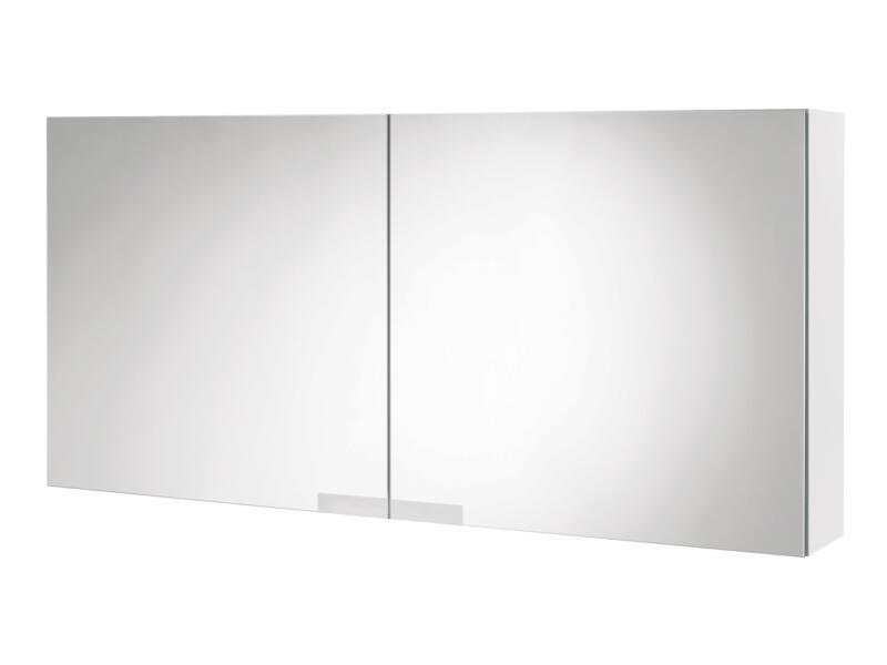 Tiger Items spiegelkast 105cm 2 deuren wit