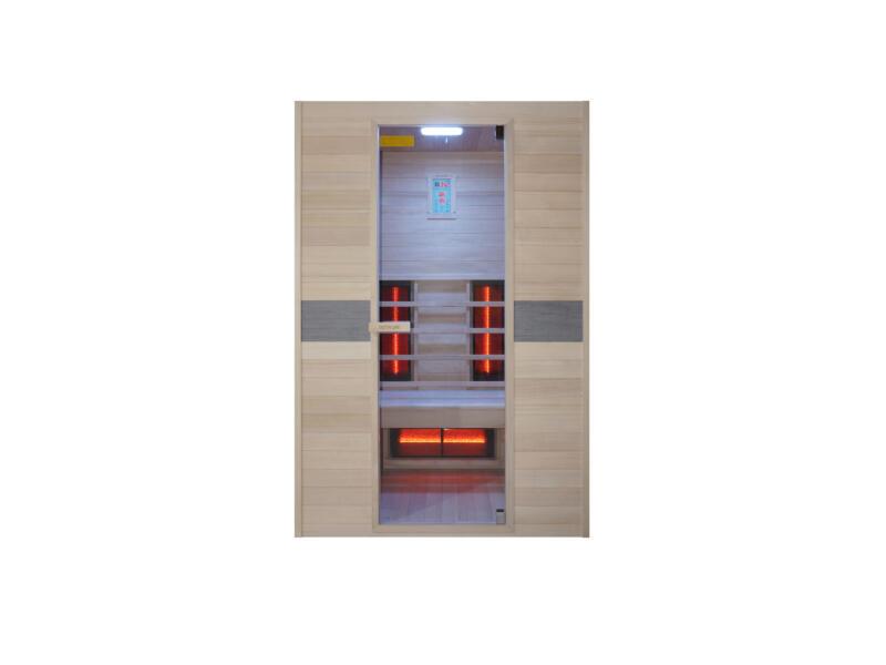 Interline Jade cabine infrarouge 130x94x190 cm 2 personnes