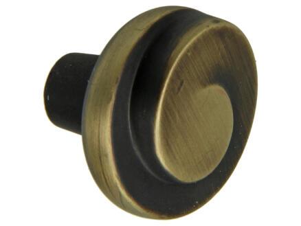 Sam Jadis bouton de meuble 30mm bronze