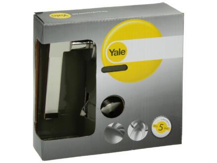 Yale Jason BB poignée de porte avec rosaces 51mm set complet nickelé mat