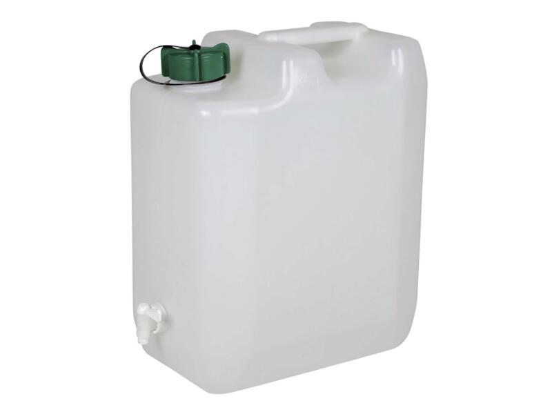 Jerrycan avec robinet 35l matière synthétique