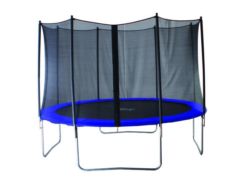 Garden Plus Jimpy trampoline 427cm + veiligheidsnet