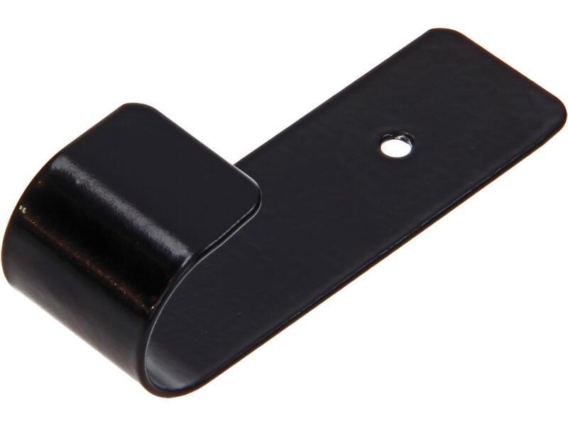 Jolly crochet portemanteau noir