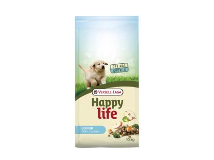 Happy Life Junior hondenvoer kip 10kg
