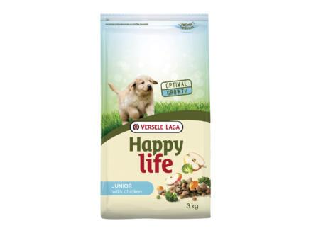 Happy Life Junior hondenvoer kip 3kg