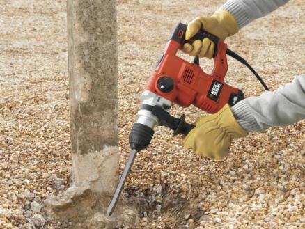 Black+Decker KD1250K-QS marteau-perforateur 1250W