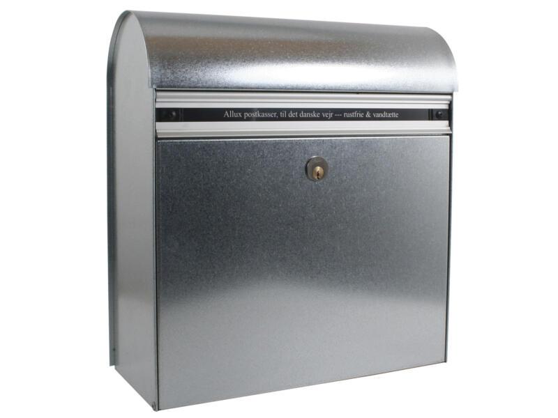 Allux KS 200 boîte aux lettres acier galvanisé gris