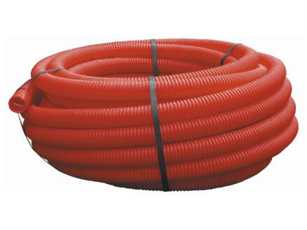 Kabelbeschermbuis 40mm 25m rood