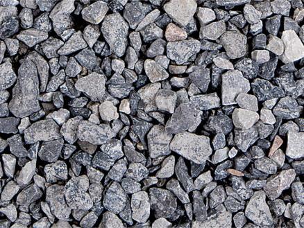 Kalksteenslag grind 6,3-14 mm 40kg grijs