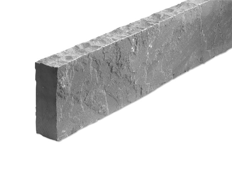 Kandla boordsteen 100x15x5 cm grijs