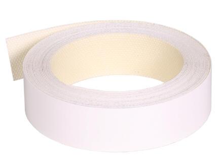 Kantenband 5m x 22mm wit