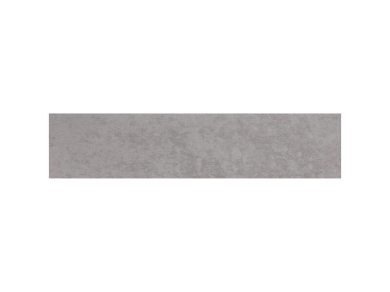 CanDo Kantlaminaat  40x6 cm betongrijs 2 stuks