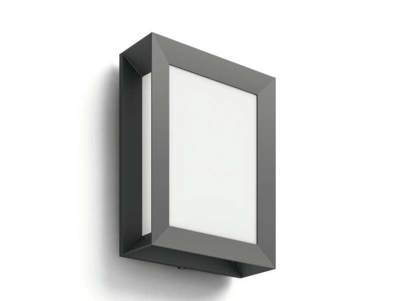 Philips Karp LED wandlamp 6W antraciet