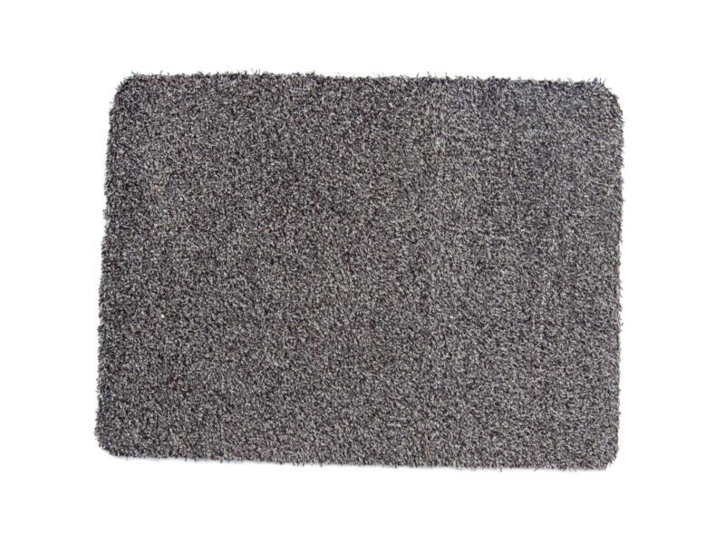 Katoenmat 50x80 cm grijs