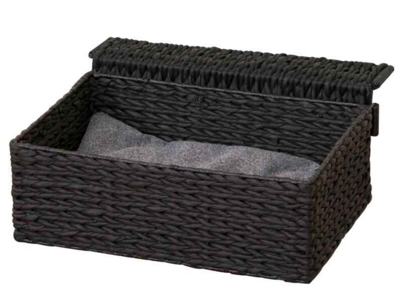 Kattenhangmat 47x40x20 cm zwart