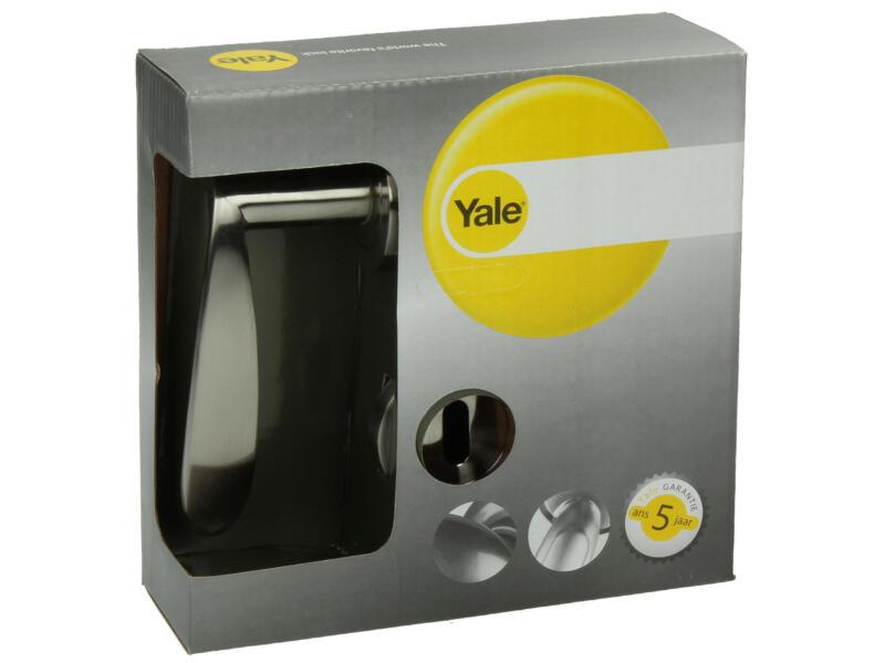 Yale Kenzo BB deurklinkset op rozet 51mm mat vernikkeld