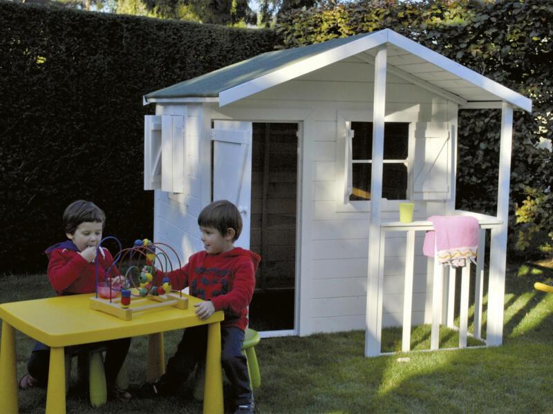 Gardenas Kiddy Delux cabane enfant imprégné