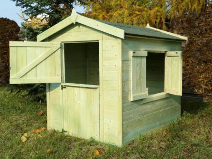 Gardenas Kiddy bois cabane enfant imprégné