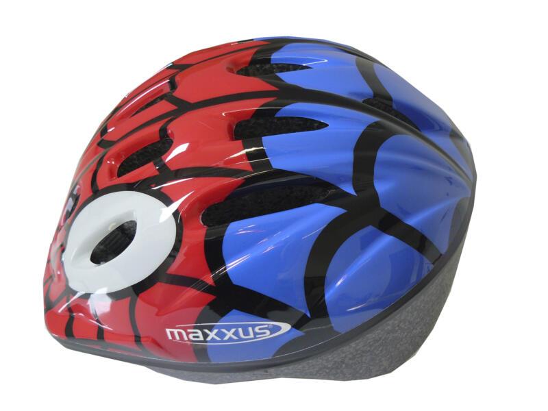 Maxxus Kinderfietshelm Spider 52-56 cm