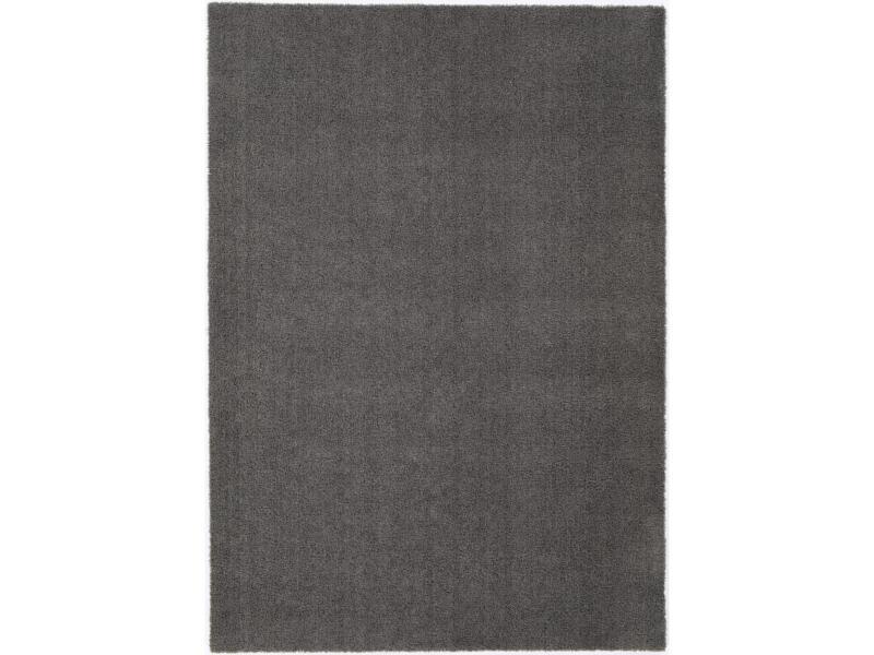 Kiss vloerkleed 80x150 cm grijs