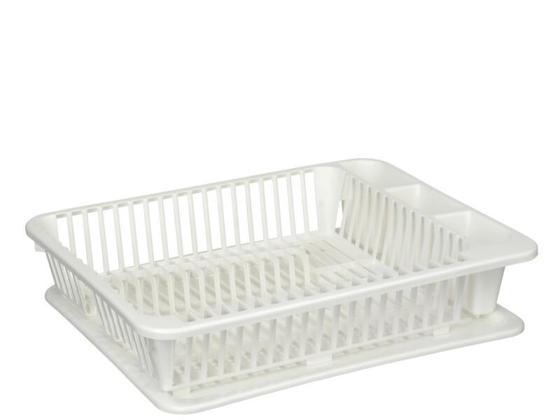 Sunware Kitchen Ware égouttoir vaisselle avec plateau blanc