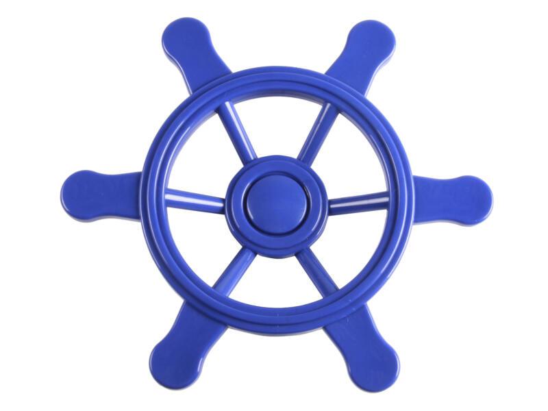 Klein piratenstuur blauw