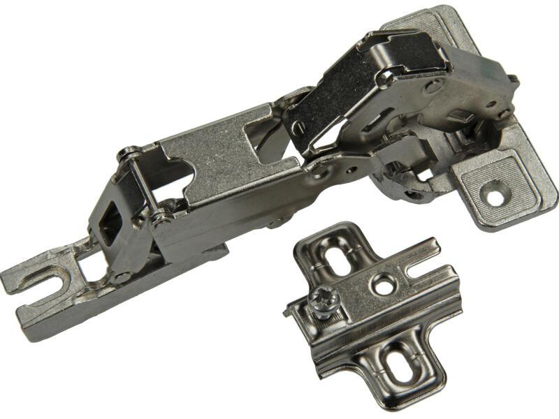 Klikscharnier inbouw rechts 35mm 2 stuks