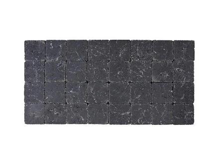 Klinkers getrommeld 10x10x6 cm zwart