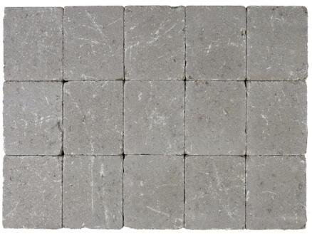 Klinkers getrommeld 15x15x5 cm grijs