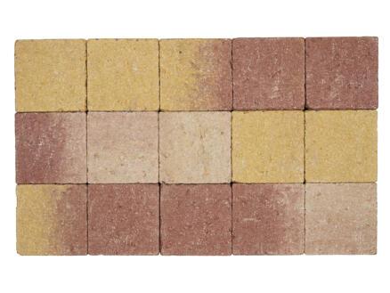 Klinkers in-line 15x15x6 cm bruin-geel