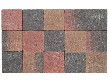 Klinkers in-line 15x15x6 cm herfstkleur