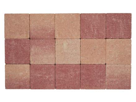 Klinkers in-line 15x15x6 cm roze-rood