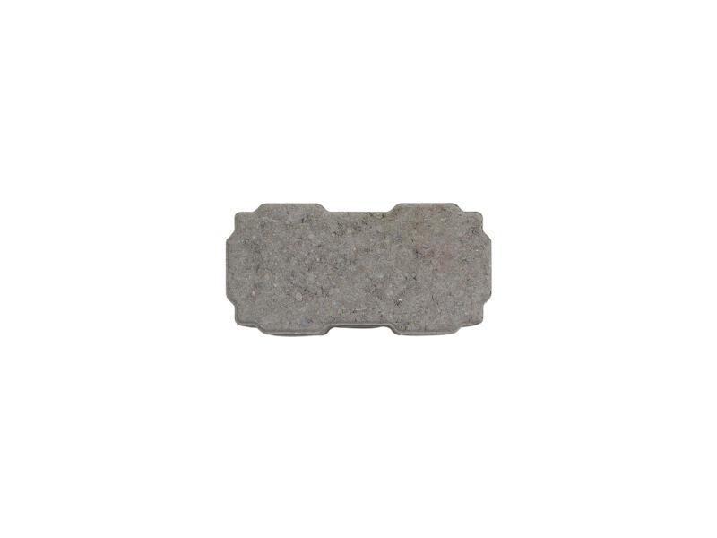Klinkers perméables à l'eau 22x11x6 cm gris