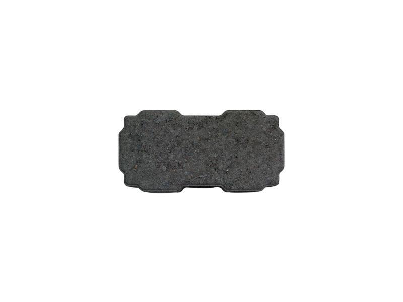 Klinkers perméables à l'eau 22x11x6 cm noir