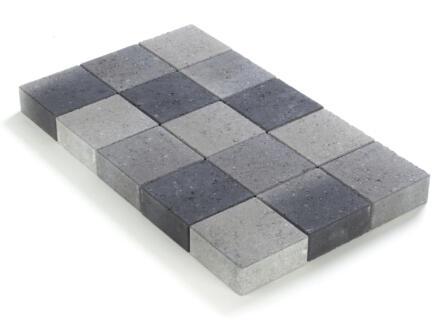 Klinkers velling 15x15x6 cm grijs en zwart