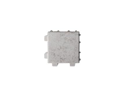 Klinkers waterdoorlatend 20x20x6 cm grijs