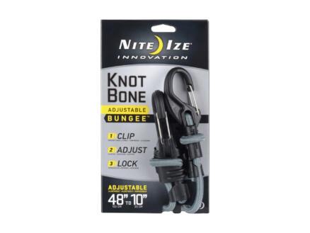 Nite Ize KnotBone snelbinder verstelbaar 2 haken 25-122 cm