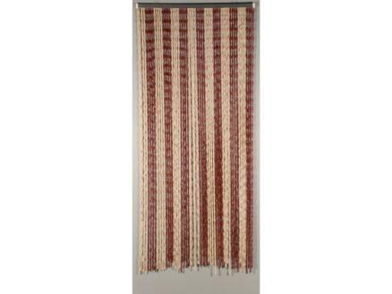 Confortex Knots deurgordijn 90x200 cm bordeaux