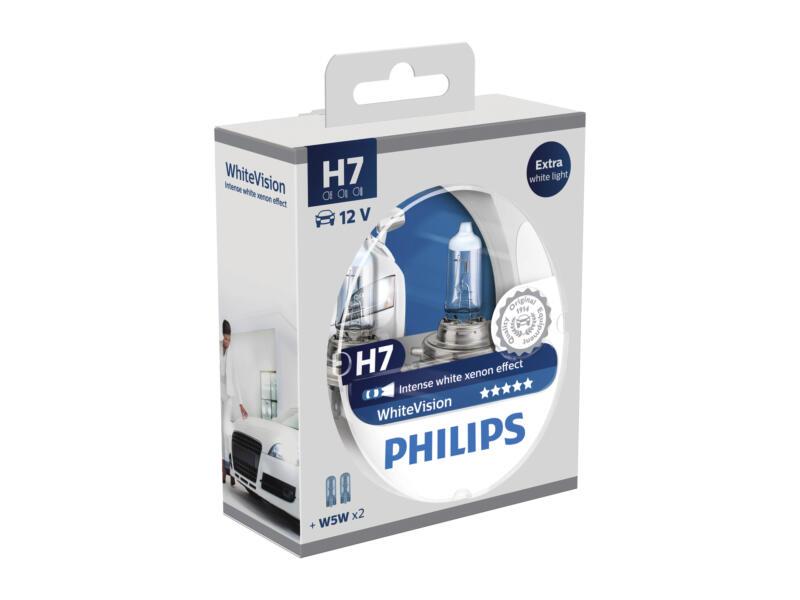 Philips Koplamp H7 WhiteVision 2xH7 + 2x5W
