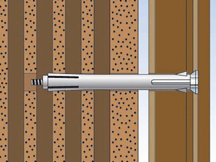 Fischer Kozijnplug F10M 112K