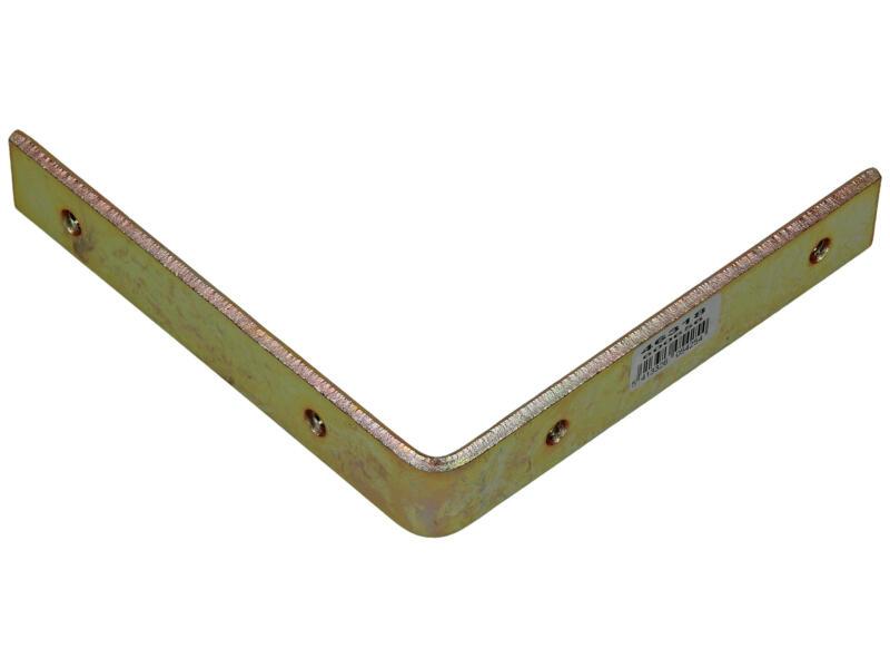 Sam Kroonlijsthaak 150x150 mm bichromaat
