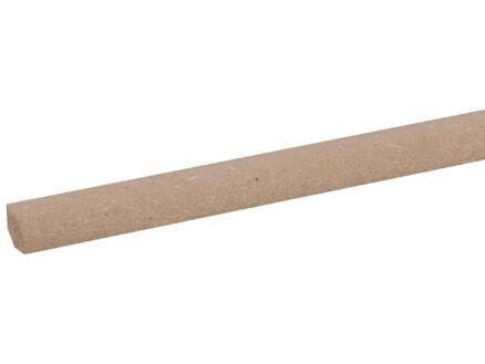 Kwartronde lat 13x13 mm 260cm