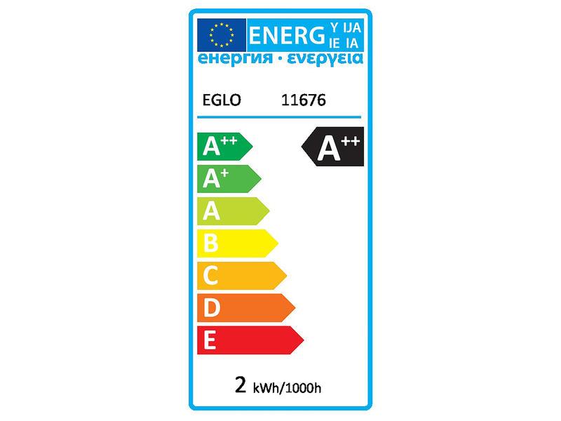 Eglo LED SMD lamp G9 2W warm wit 2 stuks