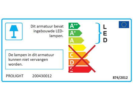 LEDstrip 60cm 8W 600lm 4000°k