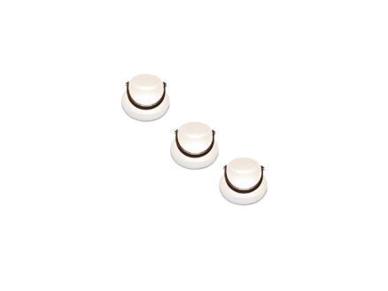 LED bloempot 10cm wit 3 stuks