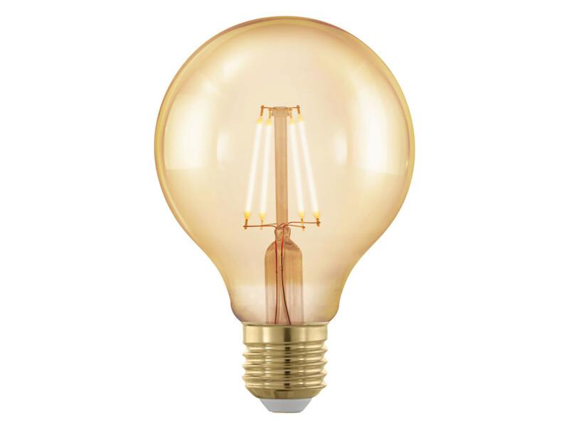 Eglo LED bollamp filament E27 4W 8cm dimbaar