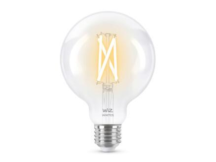 Wiz LED bollamp filament E27 8W dimbaar